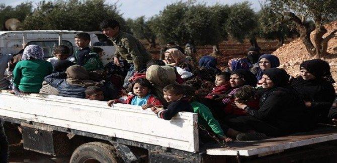 'Son 24 saat içinde 30 bin sivil Afrin'den ayrıldı'