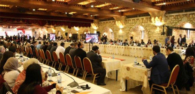 4. Filistin'le Dayanışma Kongresi Beyrut'ta gerçekleşti