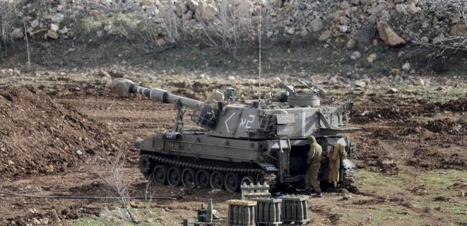 İsrail'den  Gazze'ye Saldırı