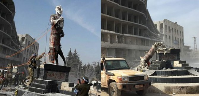 Demirci Kawa'ya Yapılan Saldırı Bölgede Cehennem'in Kapısını Araladı
