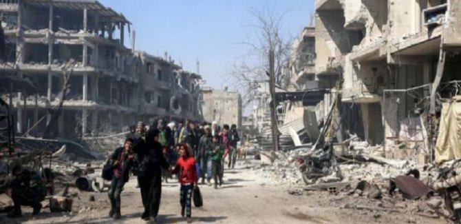 Rusya: Doğu Guta'da 79 bin sivil tahliye edildi
