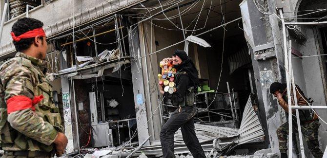 Afrin Sivil Meclisi Sözcüsü: ÖSO, Afrin'de halkın mallarını talan ediyor, kentten çekilsin