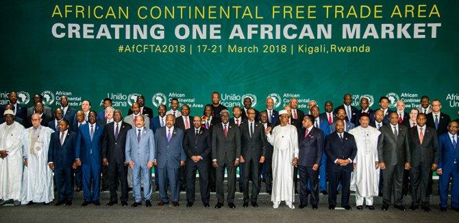 Afrika ülkelerinden tarihi imza