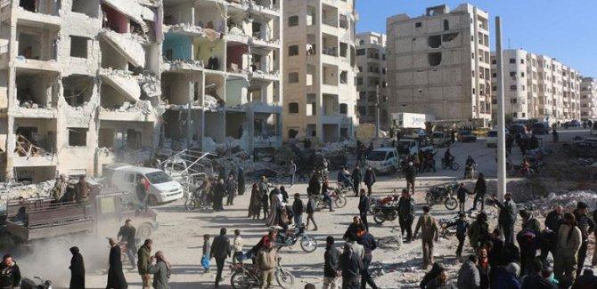 İdlib'de patlama: 7 ölü, 25 yaralı