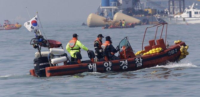 Güney Kore'de yolcu gemisi kazası: 163 kişi kurtarıldı