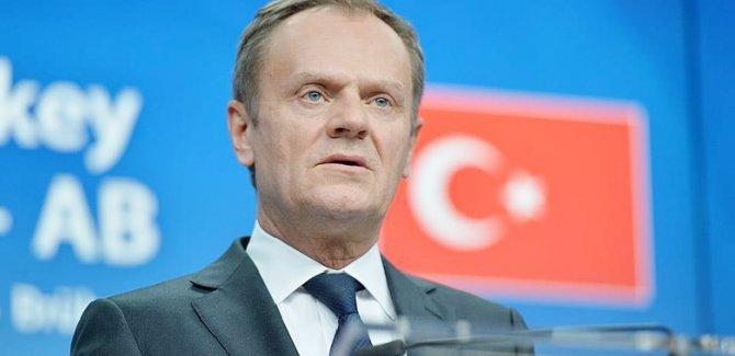 Tusk: Türkiye-AB zirvesinin amacı diyaloğun yeniden kurulması