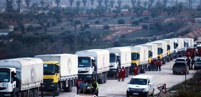BM: Afrin'e yardım gönderiyoruz
