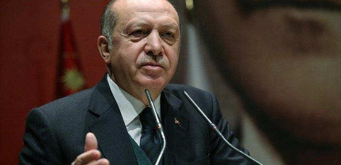 Erdoğan'dan Macron'a: Baktım garip garip açıklamalar yapıyor
