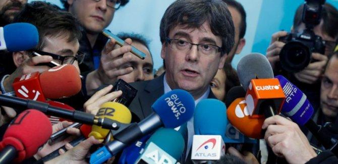 Puigdemont: Geri adım atmayacağım