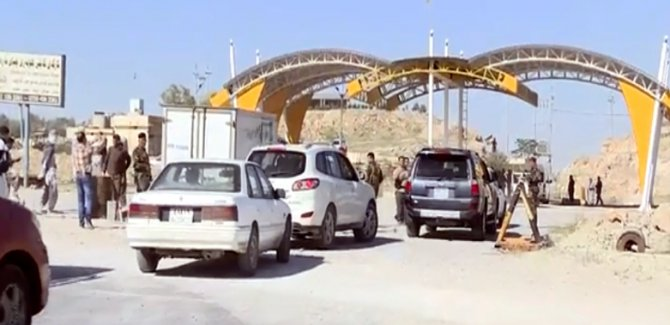 Erbil - Mahmur yolu ulaşıma açıldı
