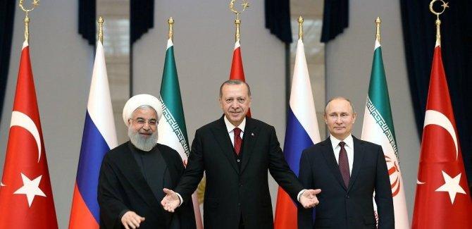 'Rusya, İran ve Türkiye'den ABD'ye sinyal'
