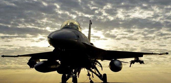 ABD'nin F-16 uçağı düştü
