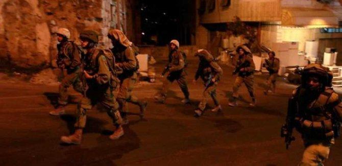 Siyonist Rejimden Gece Baskınları