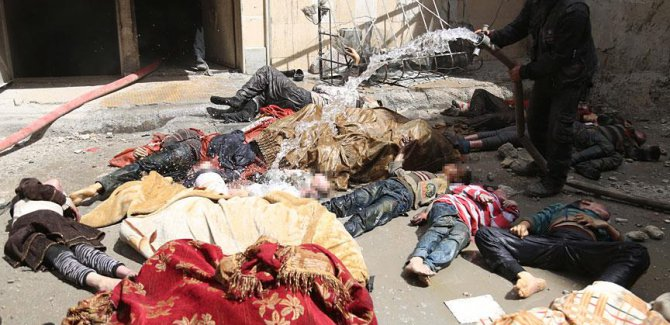 İngiltere ile Fransa, Suriye'deki kimyasal saldırıyı görüştü