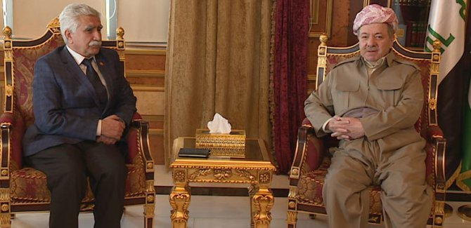 Barzani: Türkiye'de Kürt sorununun çözümüne katkı sunmaya hazırız