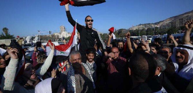Suriye Sokaklarında Protestolar Başladı