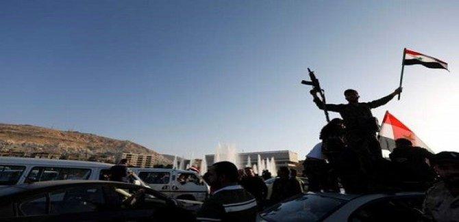 Şam: Sêyekê fuzeyên avêtî hatin tunekirin