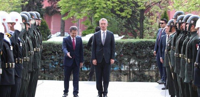 NATO Genel Sekreteri Stoltenberg, Türkiye'de