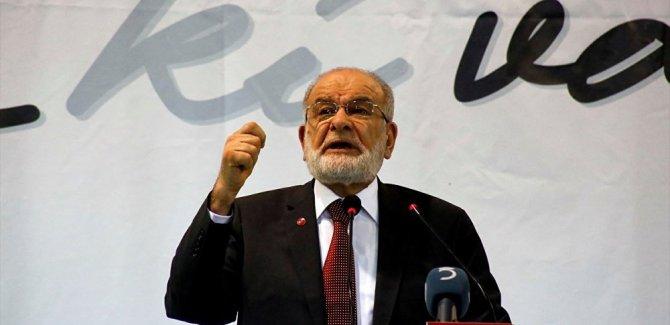 Karamollaoğlu'ndan erken seçime destek