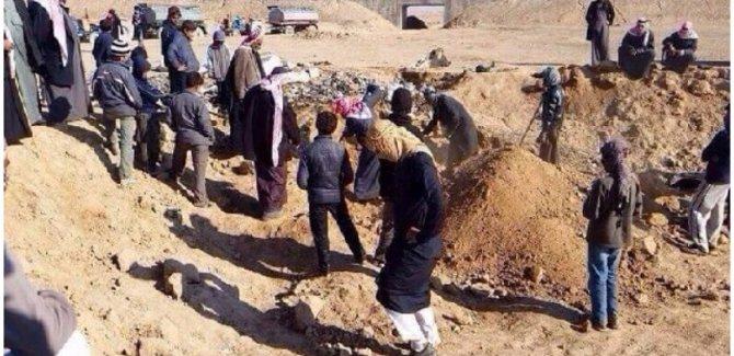 Rakka'da toplu mezar bulundu