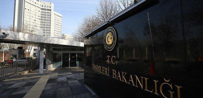 Türkiye'den ABD'ye '1915 olayları' tepkisi