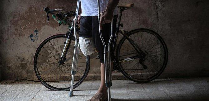 Özgürlük isteyen Gazzeliler 'el ve ayaklarını' kaybediyor