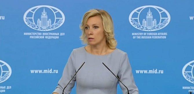 Zaharova: Batı basını gerçeği söyleyen Suriyeli görgü tanıklarını 'zehirledi'