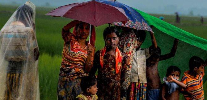 Arakanlı Müslümanlar için muson yağmurları uyarısı