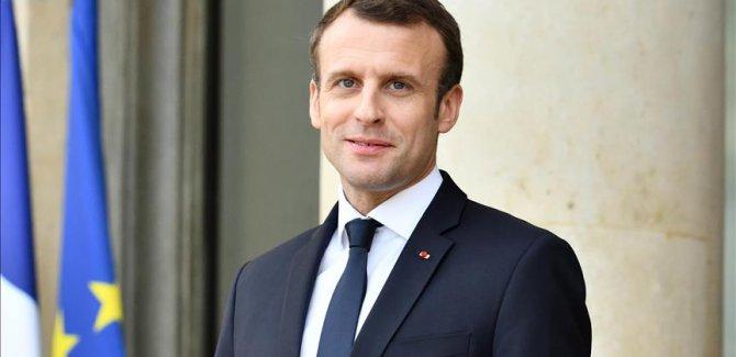 Macron'dan iklim değişikliğiyle mücadele çağrısı