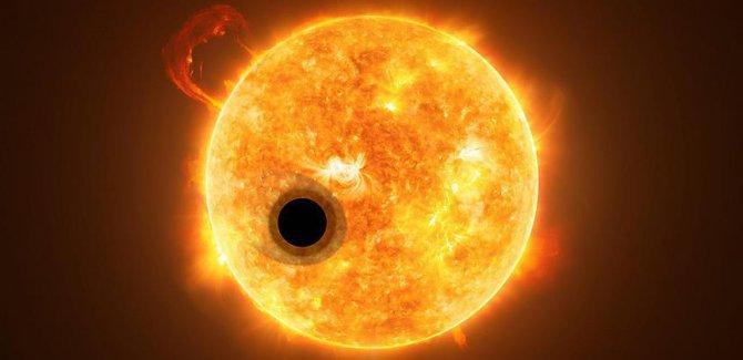 Hubble Teleskobu'yla öte gezegende büyük keşif