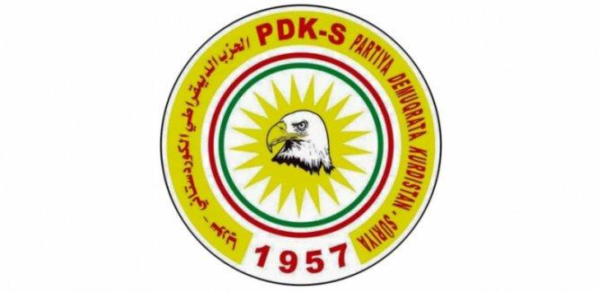 PDK-S'den Efrin halkına çağrı: Evlerinize dönün