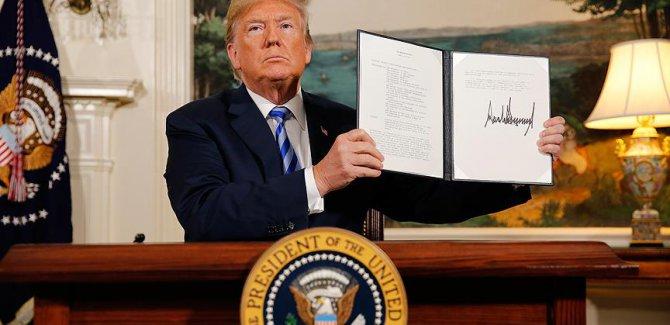 Trump'ın İran kararına dünyadan tepki yağdı
