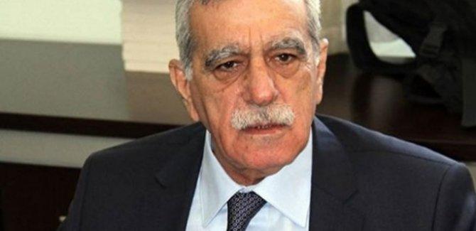 Altan Tan'dan sonra Ahmet Türk'te aday değil