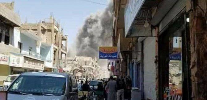 Rakka'da patlama: 4 ölü, 7 yaralı