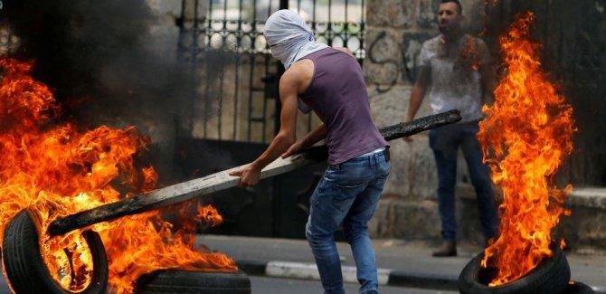 Fotoğraflarla bugün Filistin