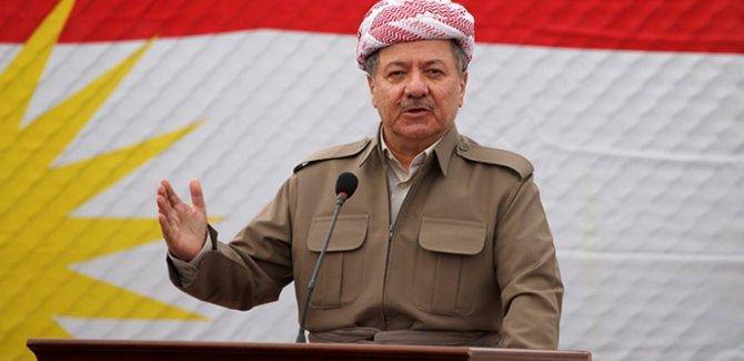 Barzani: Benim için en yüksek rütbe Peşmergelik