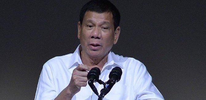 Duterte: Çin ile savaşmaya gücüm yetmez