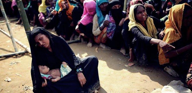 Arakan'da kadınlar ve çocuklar tecavüze uğruyor