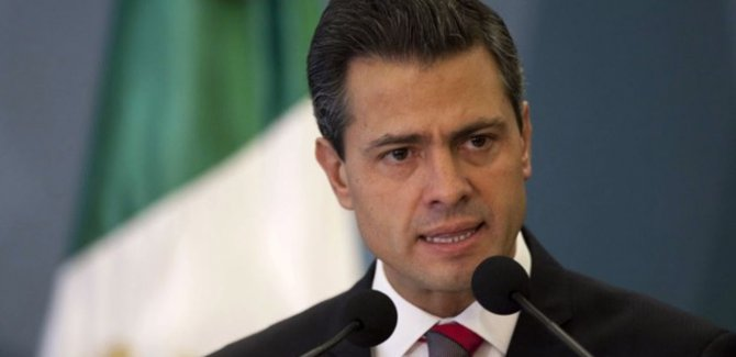 Meksika Devlet Başkanı Nieto'dan Trump'a rest