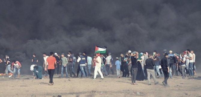 """Büyük yürüyüş """"Gazze'den Hayfa'ya"""" sloganıyla"""