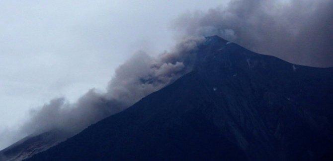 Guatemala'da yanardağ felaketi: En az 25 ölü