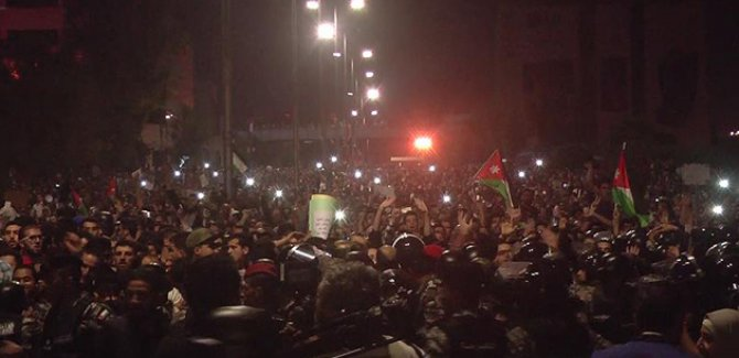 Ürdün'de protestolar durulmuyor