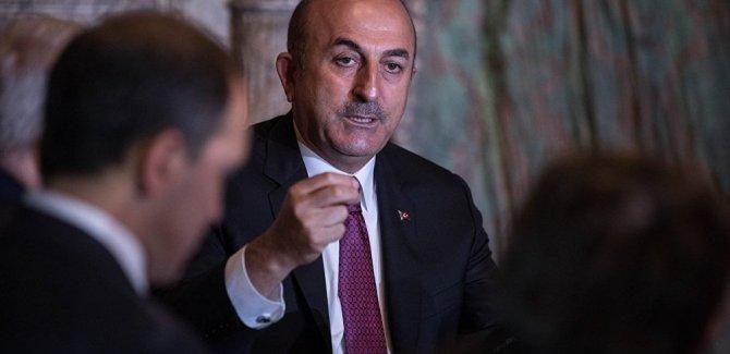 Çavuşoğlu:YPG'den silahlar alınacak