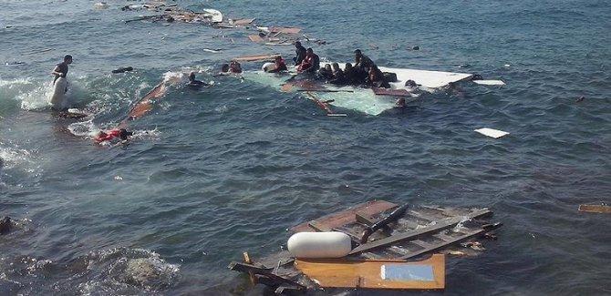 Göçmen teknesi faciası: 46 ölü