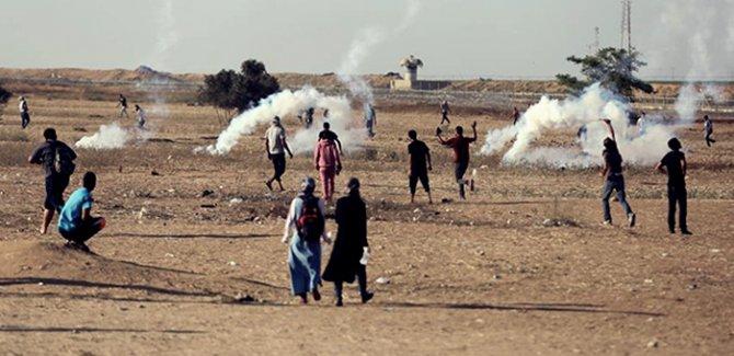 Gazze'de 'Milyonluk Kudüs' gösterisi
