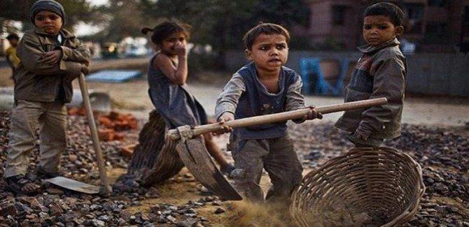 Kapitalist dünyada Çocuk işçi sayısında alarm