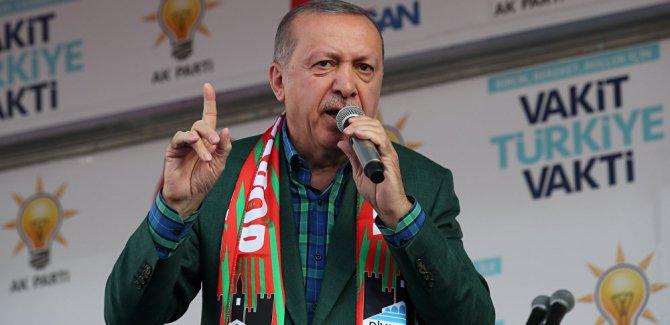 Erdoğan: ABD'nin eline mi bakacağız?