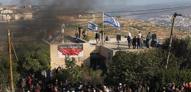 Yahudi işgalcilerden Filistinlilere saldırı