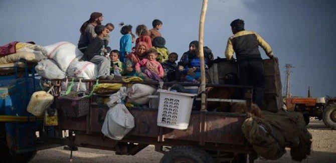 4 ayda 920 bin sivil yerinden edildi