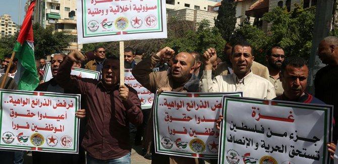 Filistînî li Alîyê Rojava Ebbasî protesto kirin